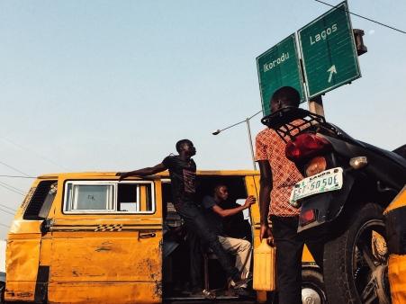 Danfo yellow bus